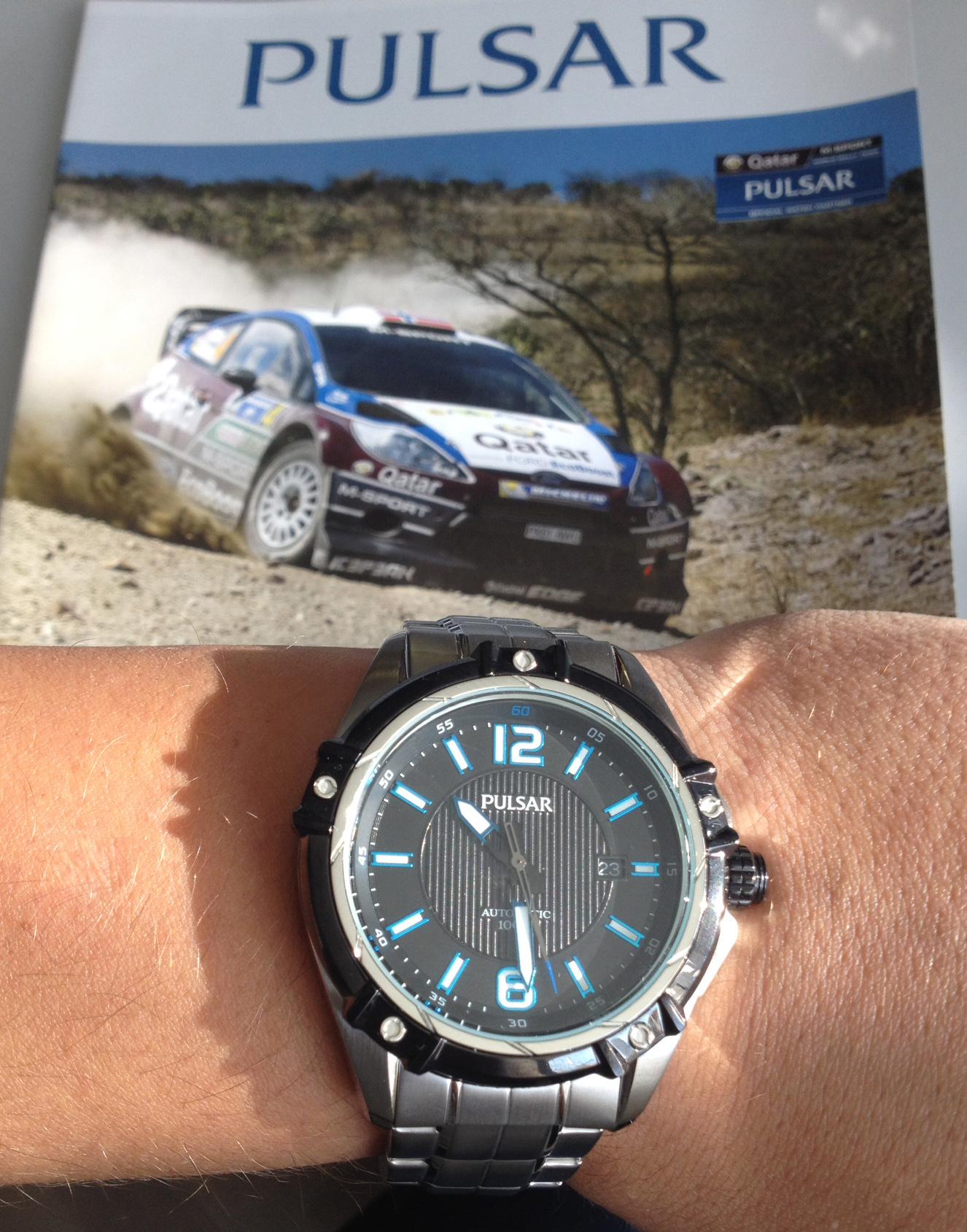 Neue Automatik-Uhren von Pulsar