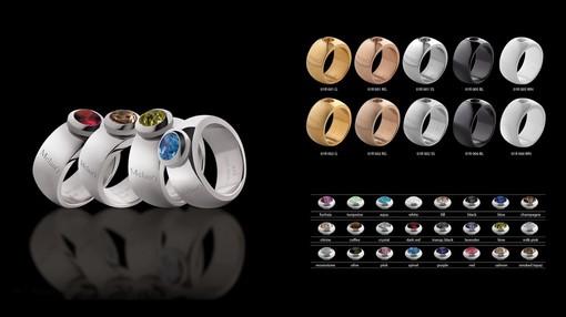 Neu im Sortiment: MelanO Ringkollektion magnetic